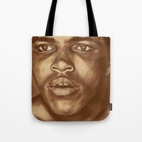 round 1...cassius clay Tote Bag