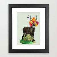 i've been searching for something i've never seen Framed Art Print