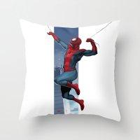 Spidey Throw Pillow