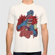 ZOMBI Mens Fitted Tee Natural SMALL