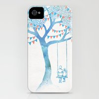 iPhone 4s & iPhone 4 Cases featuring The Start of Something by David Fleck