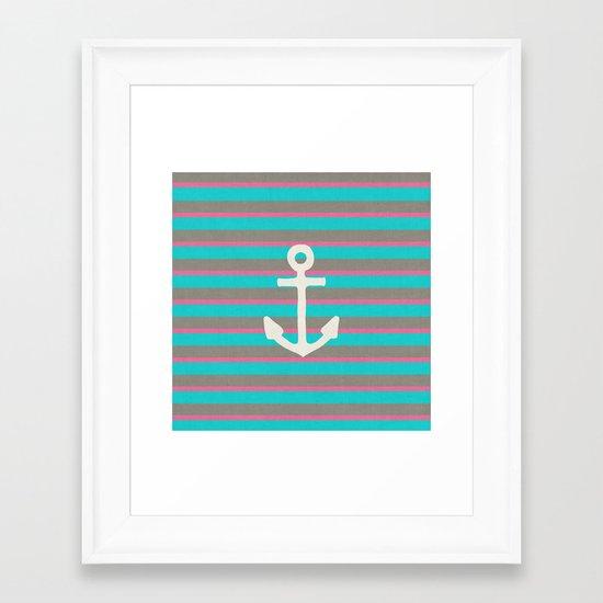 STAY II Framed Art Print