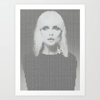 Heart Of... (White Versi… Art Print