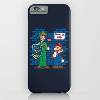 iPhone & iPod Case featuring Your Princess is in Another Castle by Mike Handy Art