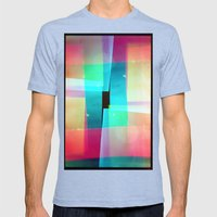constructs #1 (35mm multiple exposure) Mens Fitted Tee Tri-Blue SMALL