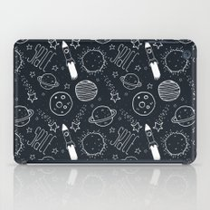 Space Doodles iPad Case