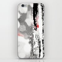 Abstract Seascape - Blac… iPhone & iPod Skin