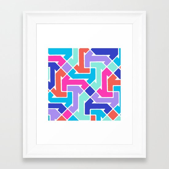 Azimuth 2 Framed Art Print