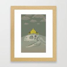 Rex, the King of Dinosaur Framed Art Print