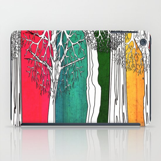 Color Forest iPad Case