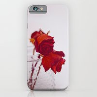 iPhone & iPod Case featuring red rose. by lissalaine