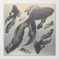 Devilfish Canvas Print
