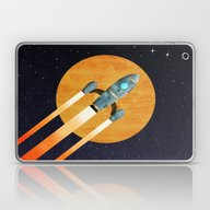 Rocket:  2nd Star To The… Laptop & iPad Skin