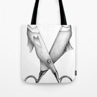 Cut me in quadrants Tote Bag