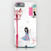 iPhone & iPod Case featuring white wall by leeem