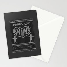 Zombie knitwear Stationery Cards