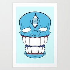NLGHTN Art Print