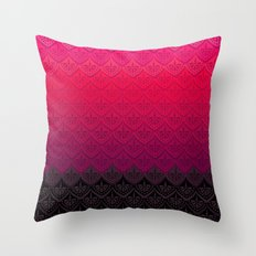 ELENA PATTERN - FLAMENCO… Throw Pillow