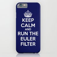 Keep Calm and Run the Euler Filter iPhone 6 Slim Case