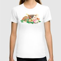 Relax Womens Fitted Tee White SMALL