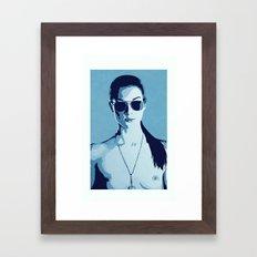Stoya Framed Art Print