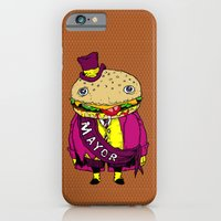iPhone & iPod Case featuring the mayor by motorbot