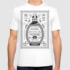 Legend of Zelda Red Chu Potion Advertisement Mens Fitted Tee SMALL White