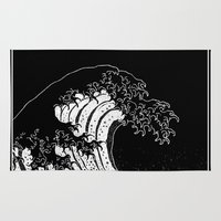 Hokusai, the Great Wave Rug