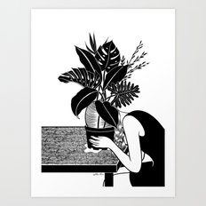 Tragedy makes you grow up Art Print