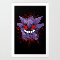 Wild Shadow Art Print