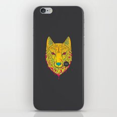 The Unbridled Anger of a Decapitated Direwolf iPhone & iPod Skin
