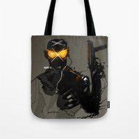 Marvel Fan Art AGENT X Tote Bag