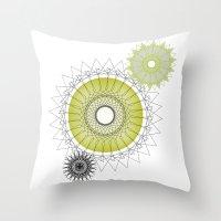 Modern Spiro Art #5 Throw Pillow