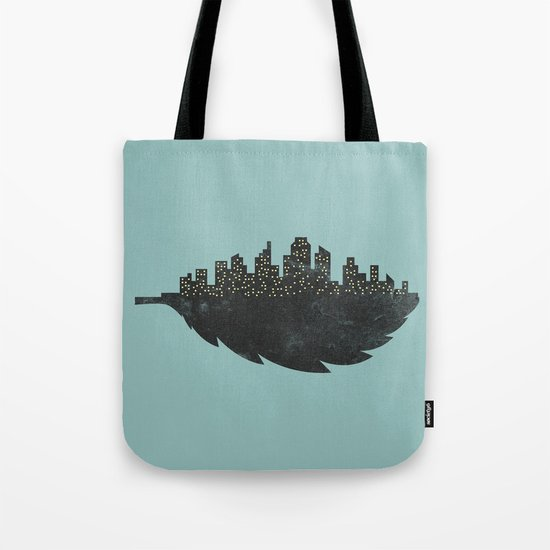 Leaf City Tote Bag