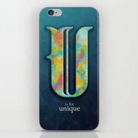 U Is For Unique iPhone & iPod Skin