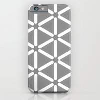 iPhone & iPod Case featuring Wildeman Grey Pattern by Stoflab