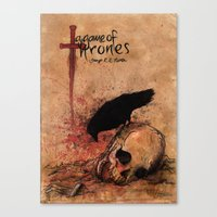 A Game Of Thrones Canvas Print