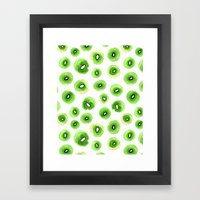 Fresh Kiwis Framed Art Print