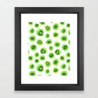 Fresh Kiwis Framed Art Print