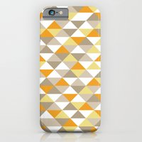 iPhone & iPod Case featuring Triangle Pattern #1 by LoMoCo