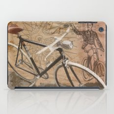 vintage bicycle hipster iPad Case