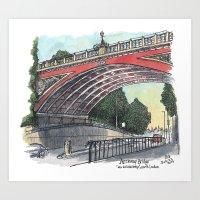 Archway Bridge Art Print