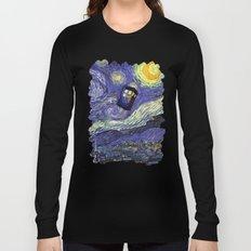 VAN GOGH STARRY NIGHT TARDIS Long Sleeve T-shirt