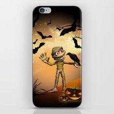Halloween, Funny mummy  iPhone & iPod Skin