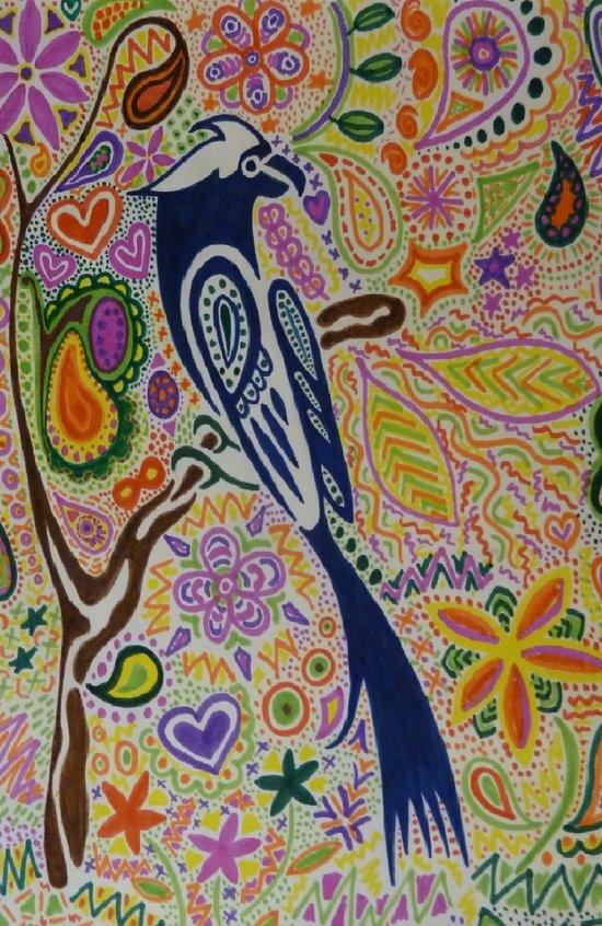 Doodlebird Art Print