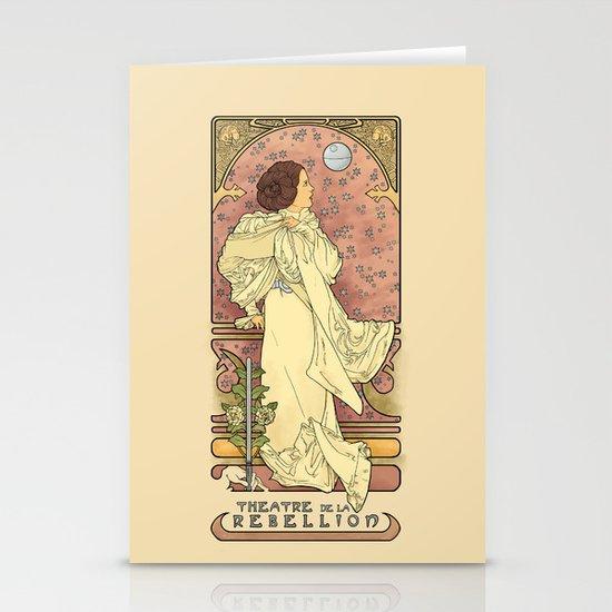 La Dauphine Aux Alderaan Stationery Card