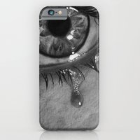 iPhone & iPod Case featuring Life is moking me by bianca.ferrando