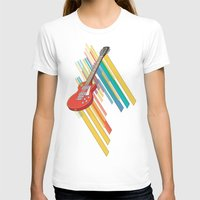 guitar T-shirts featuring Guitar by Pedro Alvarez