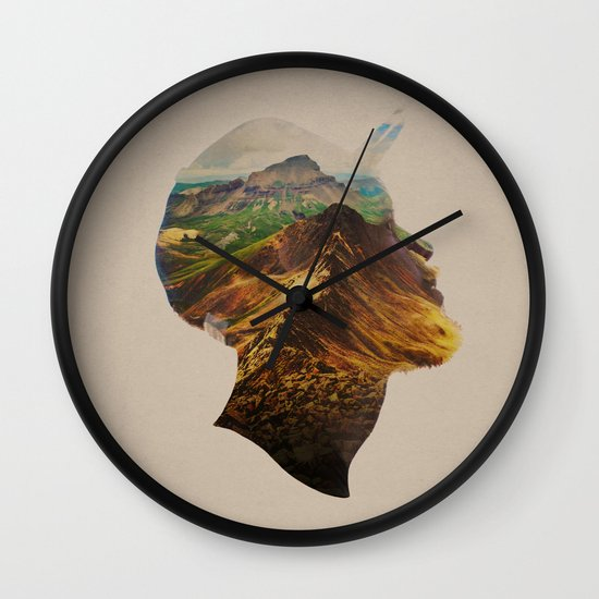 Get Away Wall Clock