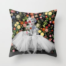 Marilyn Ballerina Throw Pillow